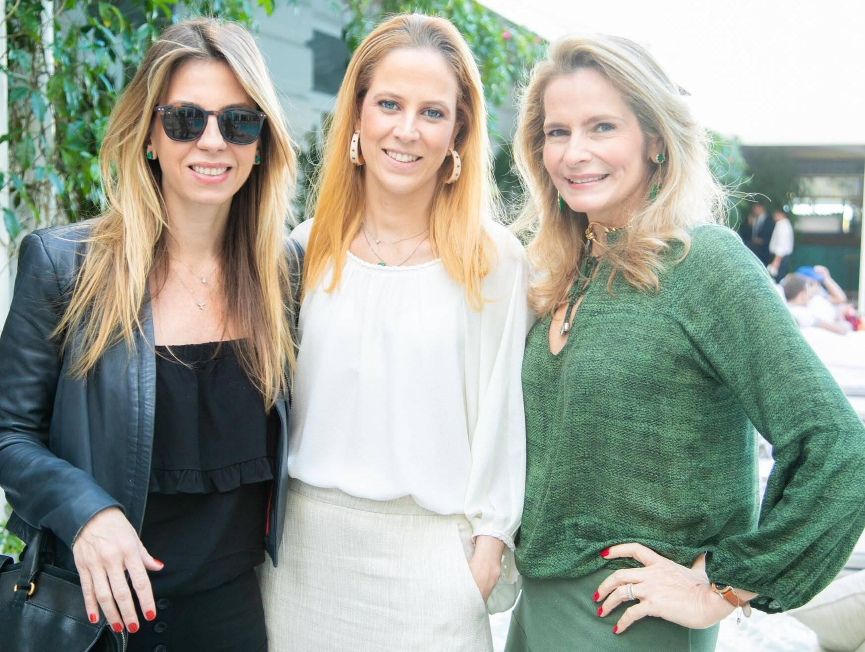 Viviana Penalva, Mariana Pinheiro e Ana Paula Leão Teixeira /Foto:Miguel Sá