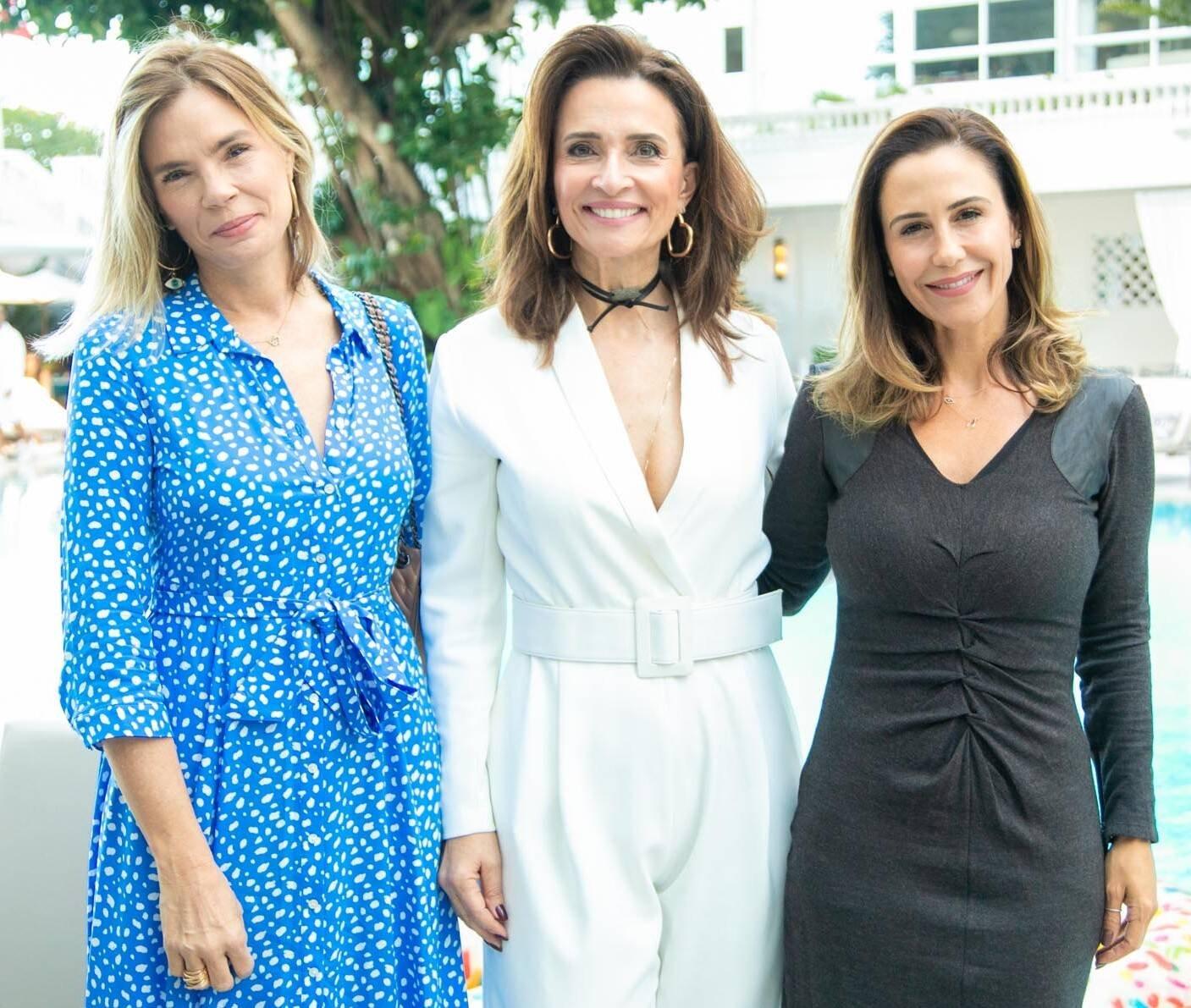 Alexia Dechamps, Andrea Natal e Guilhermina Guinle /Foto:Miguel Sá