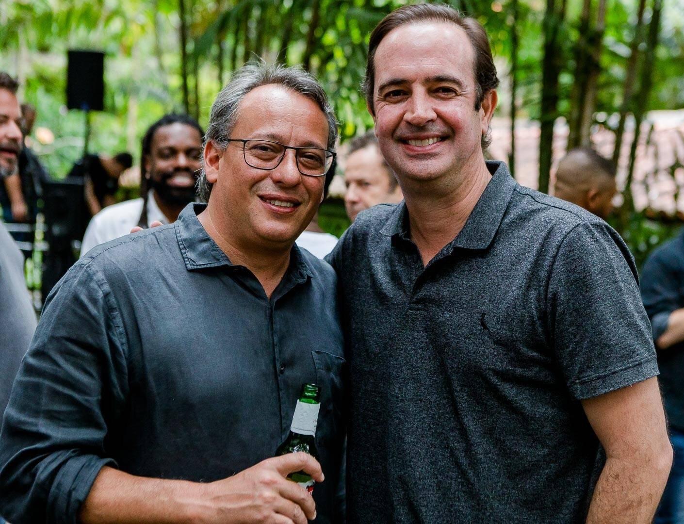 Antonio Pedro Figueira de Mello e André Beck  /Foto: Bruno Ryfer