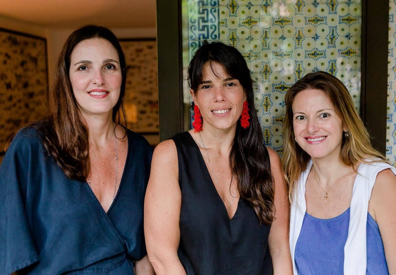 Rafa Garcez, Fernanda Thedim e Andrea Abelleira  /Foto: Bruno Ryfer