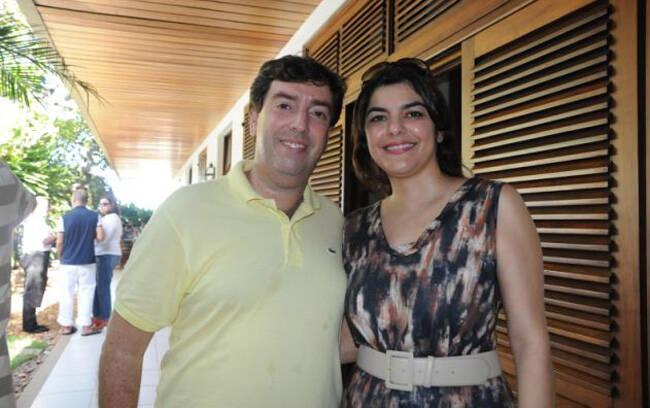 Frank Roman e Fabiola Bernardo