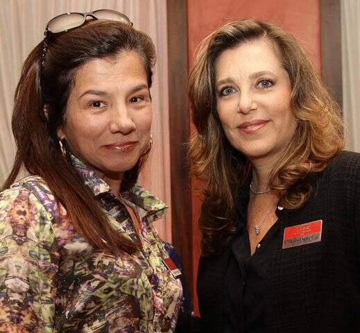 Paula Johas e Cristina Lacerda