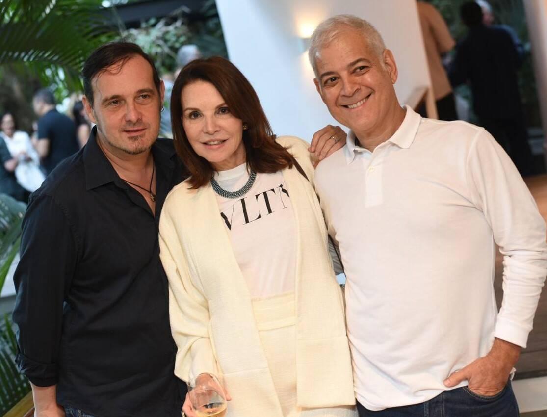 Marcelo Lima, Patricia Mayer e Mauricio Nóbrega /Foto: Ari Kaye