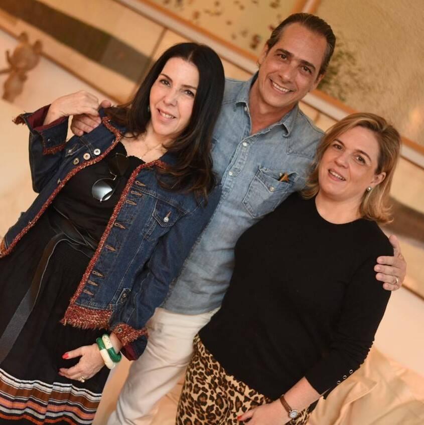 Paola Ribeiro, Marcelo Catalano e Luciana Caravello /Foto: Ari Kaye