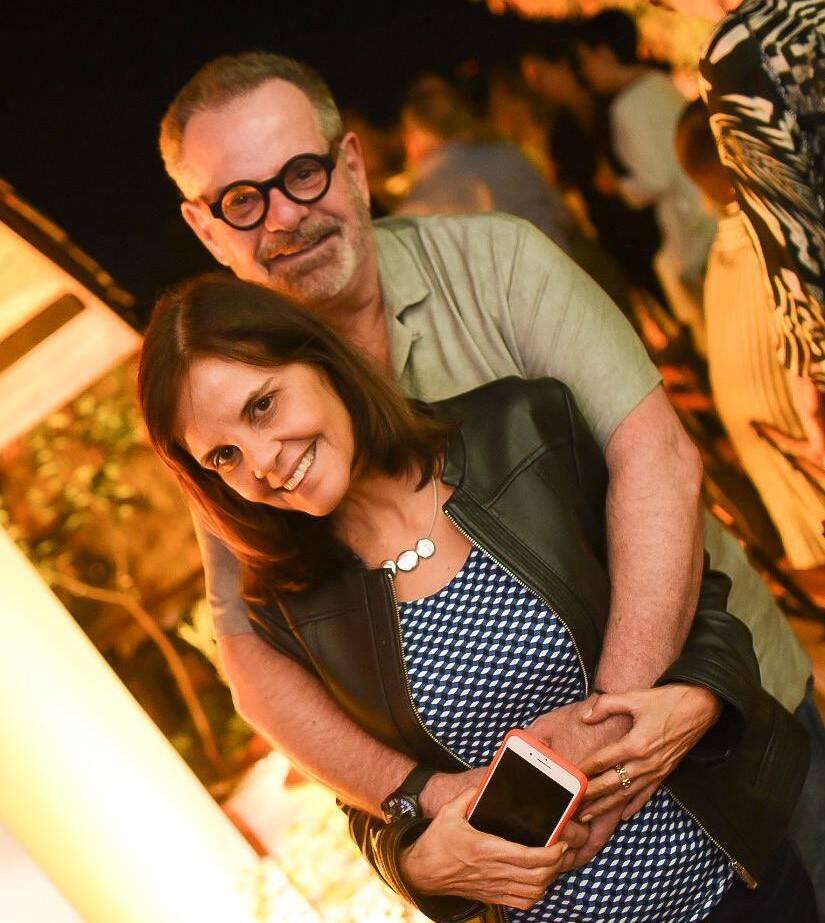 Eduardo Machado e Angela Falcão /Foto: Ari Kaye