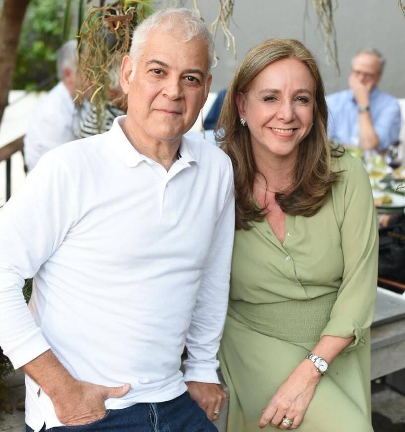 Mauricio e Cecilia Nóbrega /Foto: Ari Kaye