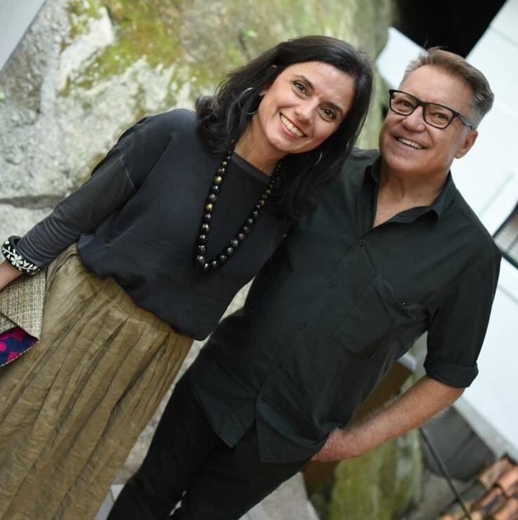 Regina Galvão e João Caetano /Foto: Ari Kaye