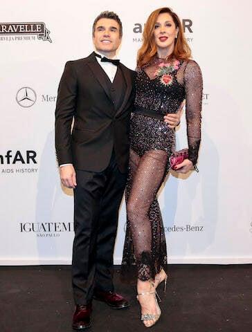Claudia Raia e Jarbas Homem