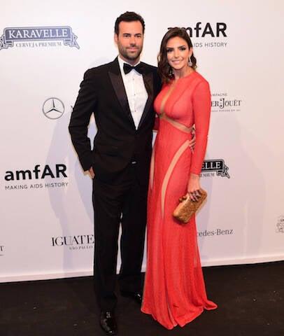 Eduardo Scarpa e Carol Celico