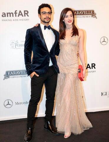 Sérgio Malheiros e Sophia Abrahão