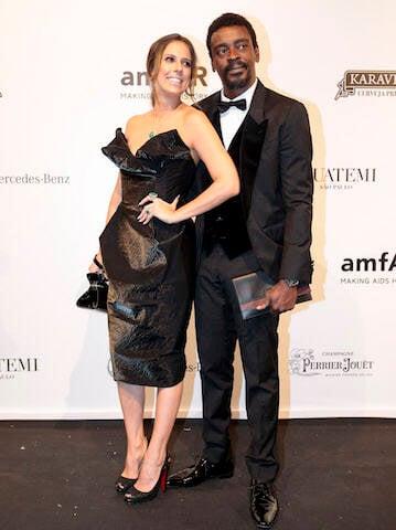 Seu Jorge e Karina Maluf
