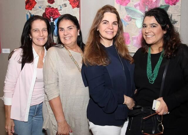Lika Maciel, Carmen Colombo, Cristiana Magalhães e Luciana Condé
