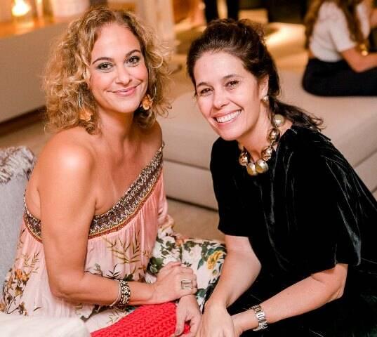 Cris Menezes e Christiana Guimarães