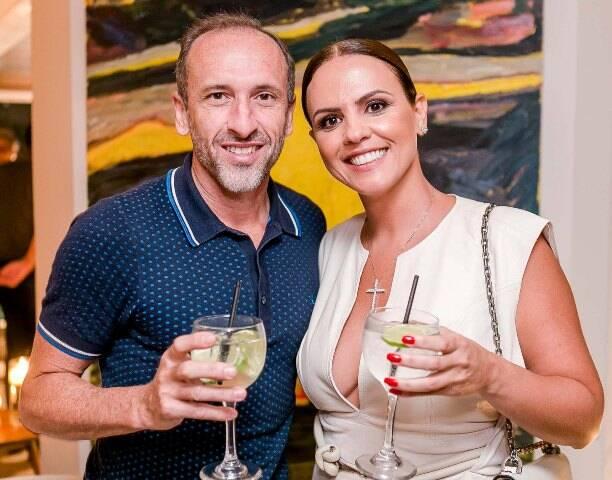 Denilson Machado e Michelle Novaes