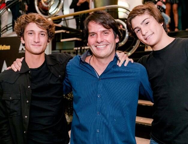 Felipe, Roberto e Pedro Jatahy