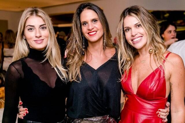 Laura Ciribelli, Virgínia Macul e Morgana Bernardo
