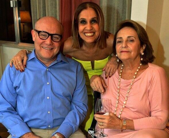 Paulo Muller, Loreta Burlamaqui e Lucinha Araújo