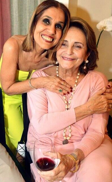Loreta Burlamaqui e Lucinha Araújo