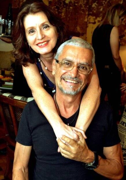 Christina Moreira e Leonardo Burlamaqui