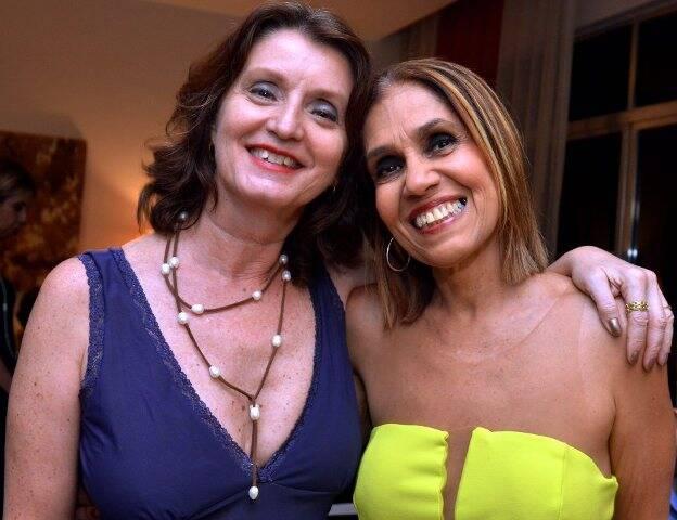 Christina Moreira e Loreta Burlamaqui
