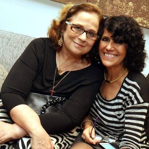 Hildegard Angel e Rosane Castro Neves