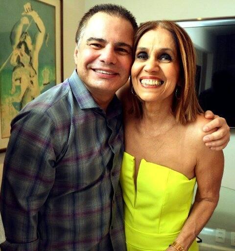 Ricardo Linhares e Loreta Burlamaqui