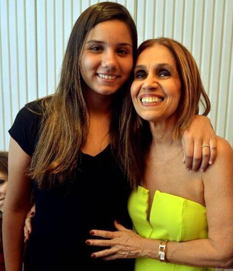 Valentina e sua madrinha, Loreta Burlamaqui