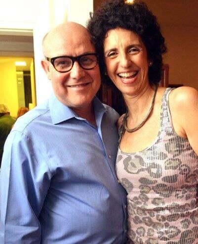 Paulo Muller e Vanja Ferreira