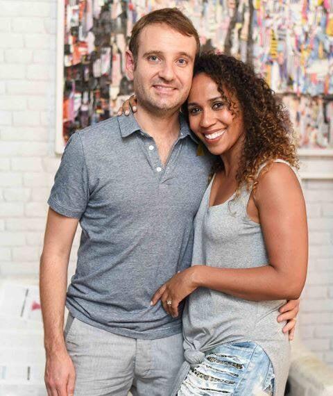 Adrien Muselet e Andréa Machado