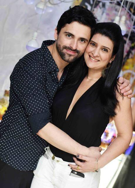 Anderson Thives e Mariana Fonseca