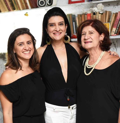 Guta, Mariana e Mara Nobili da Fonseca