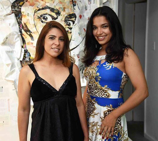 Júlia Morales e Yasmin Motizuki