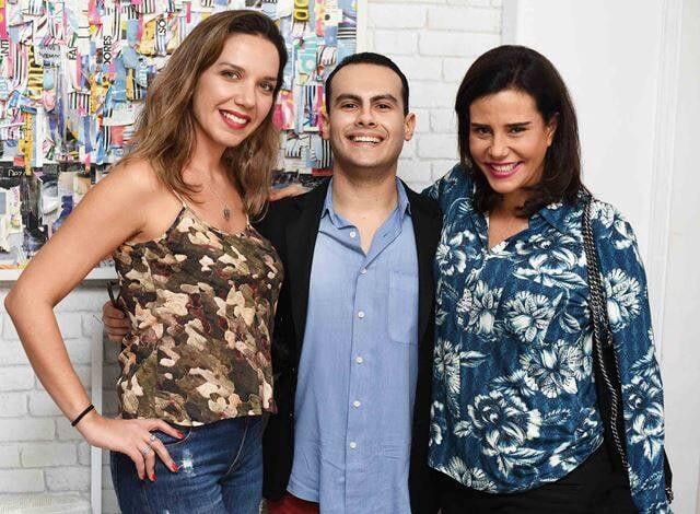 Roberta Barbosa, Pedro Henrique e Narcisa Tamborindeguy