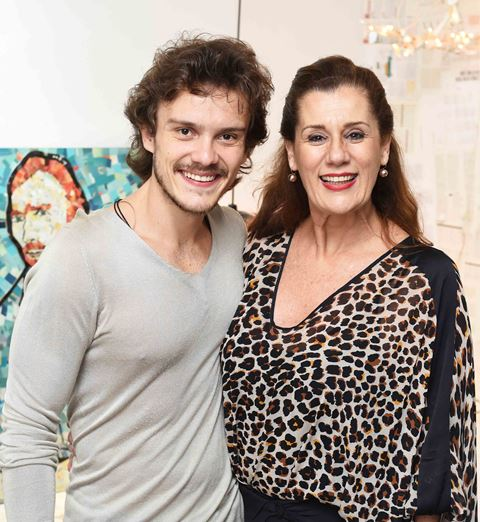 Yuri Ribeiro e Claudia Wildberger