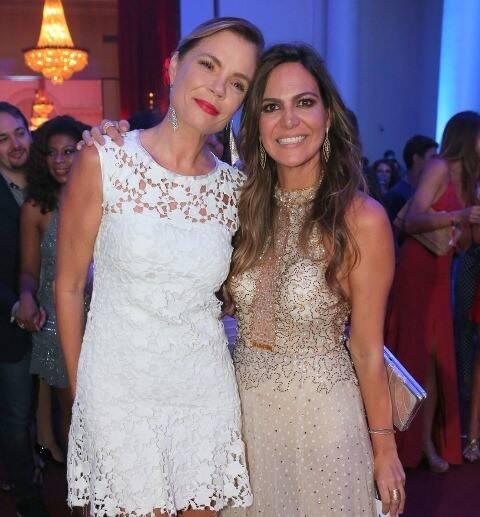 Alexia Dechamps e Carol Sampaio