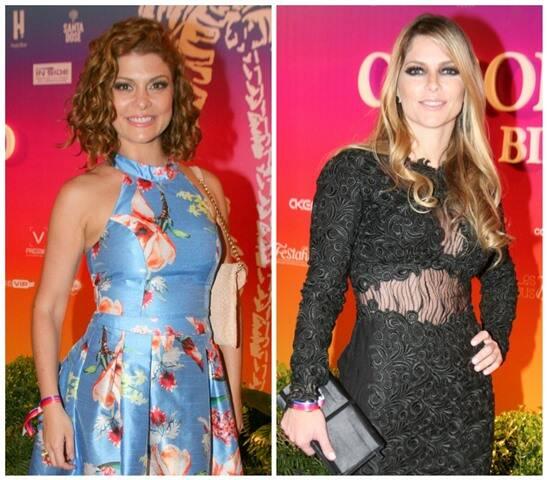 Bárbara Borges e Ana Paula Tabalipa