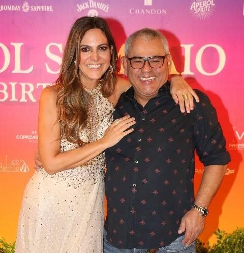 Carol Sampaio e Jayder Soares