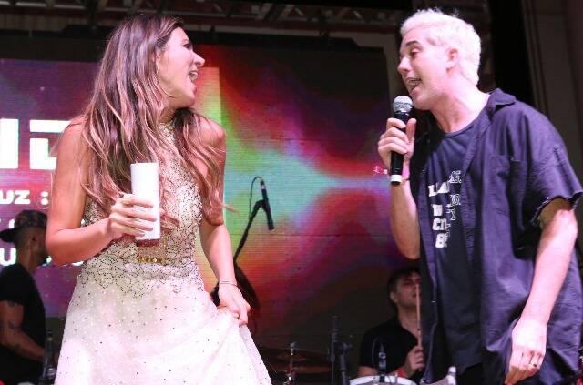 Carol Sampaio e Rogério e Flausino