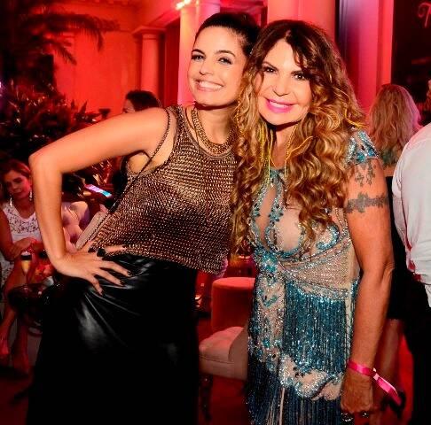 Emanuelle Araújo e Elba Ramalho