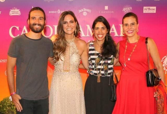 João Paulo Demasi, Carol Sampaio, Bela Gil e Narcisa Tamborindeguy