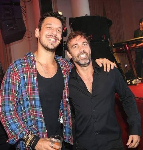 João Vicente de Castro e Marcelo Faria