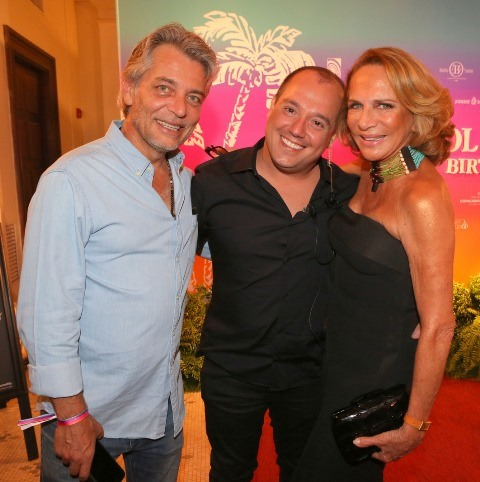 Lulu Lima e Silva, Michel Diamant e Lenny Niemeyer