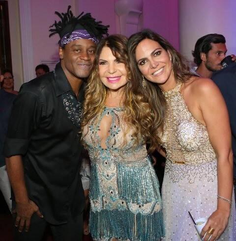 Toni Garrido, Elba Ramalho e Carol Sampaio