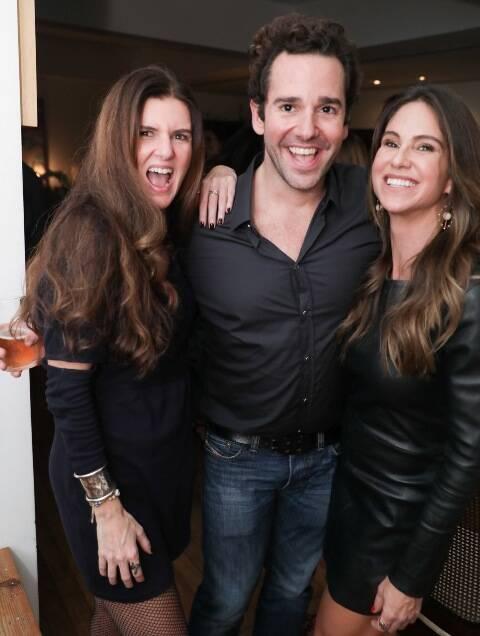 Manuela Noronha, Thiago Senna e Gilda Amado
