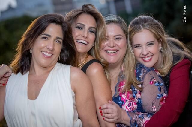 Liza Rabinovitch, Georgia Buffara , Suzana Portella e Juliana Barcelos