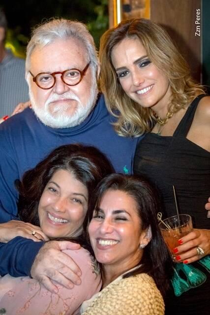 Ricardo Amaral, Georgia Buffara, Mônica Mello e Livia Torres