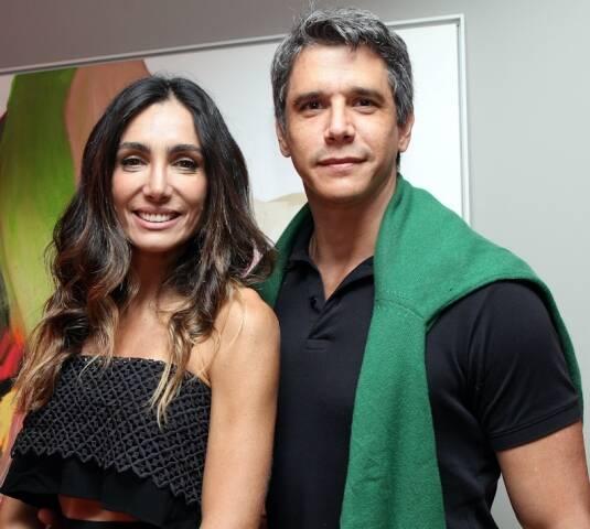 Andréa Santa Rosa e Marcio Garcia