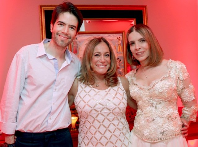 Luiz Fernando Coutinho, Susana Vieira e Liège Monteiro