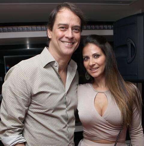 Marcello Antony e Carolinie Holinger
