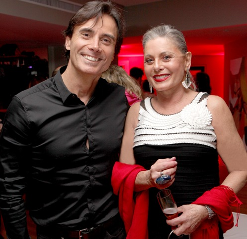 Marcelo Fonseca e Vera Fischer